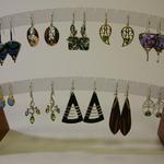 A FEW EARRINGS-- WE HAVE OVER 350 PAIRS